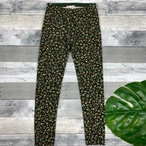 Zara Bottoms - Zara kids floral leggings 10